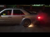 W124 E500 burnout